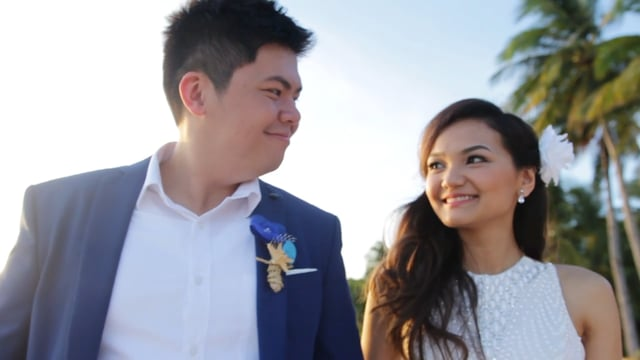 Boracay Wedding SDE | Valerie & Red